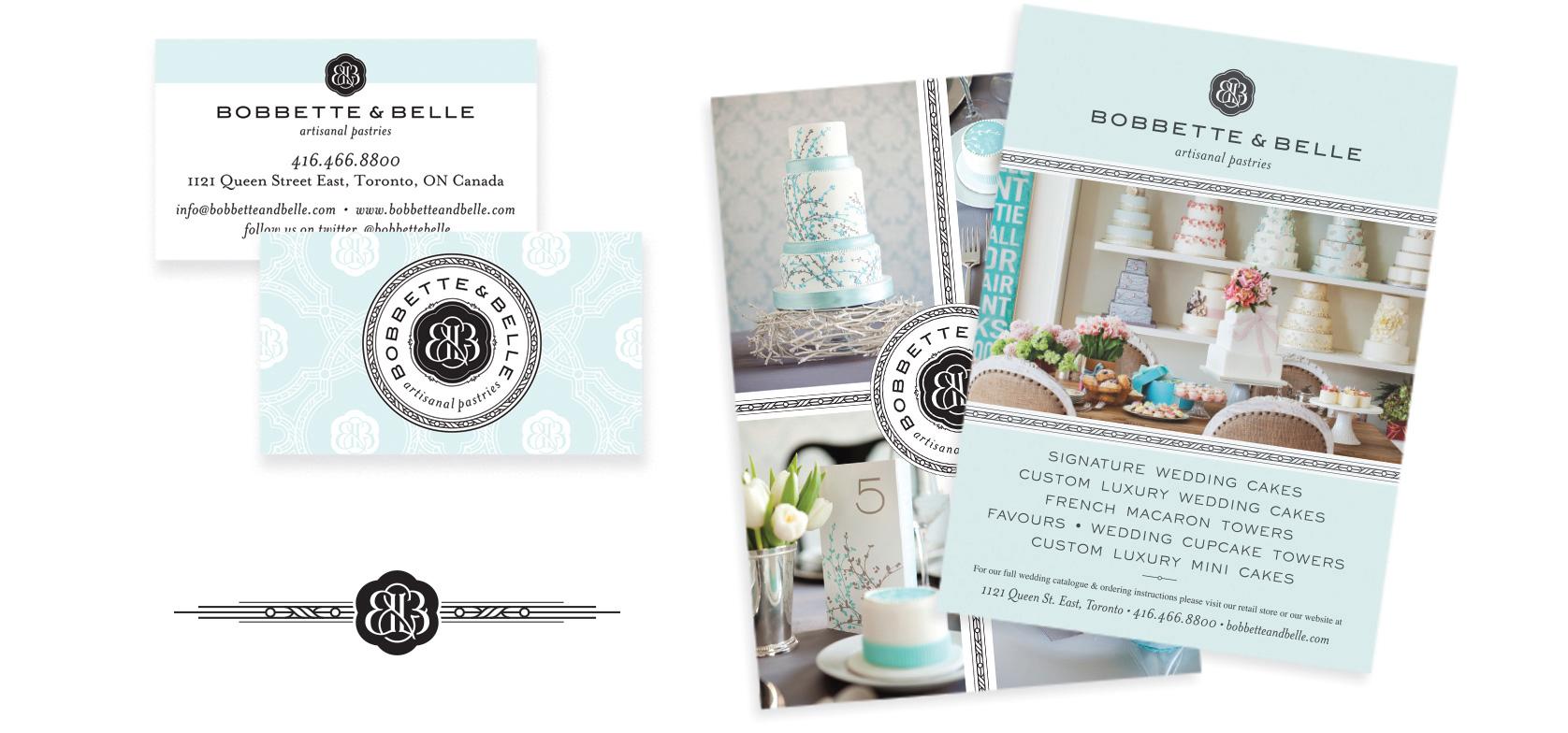 Bobbette & Belle Logo design by Chad Roberts Design