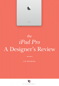 iPad Pro Designer's review