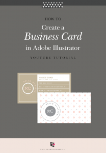 Youtube-video-tutorial-businesscard-illustrator