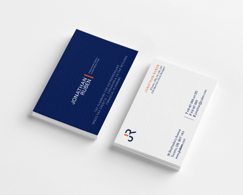 JR Businesscard design