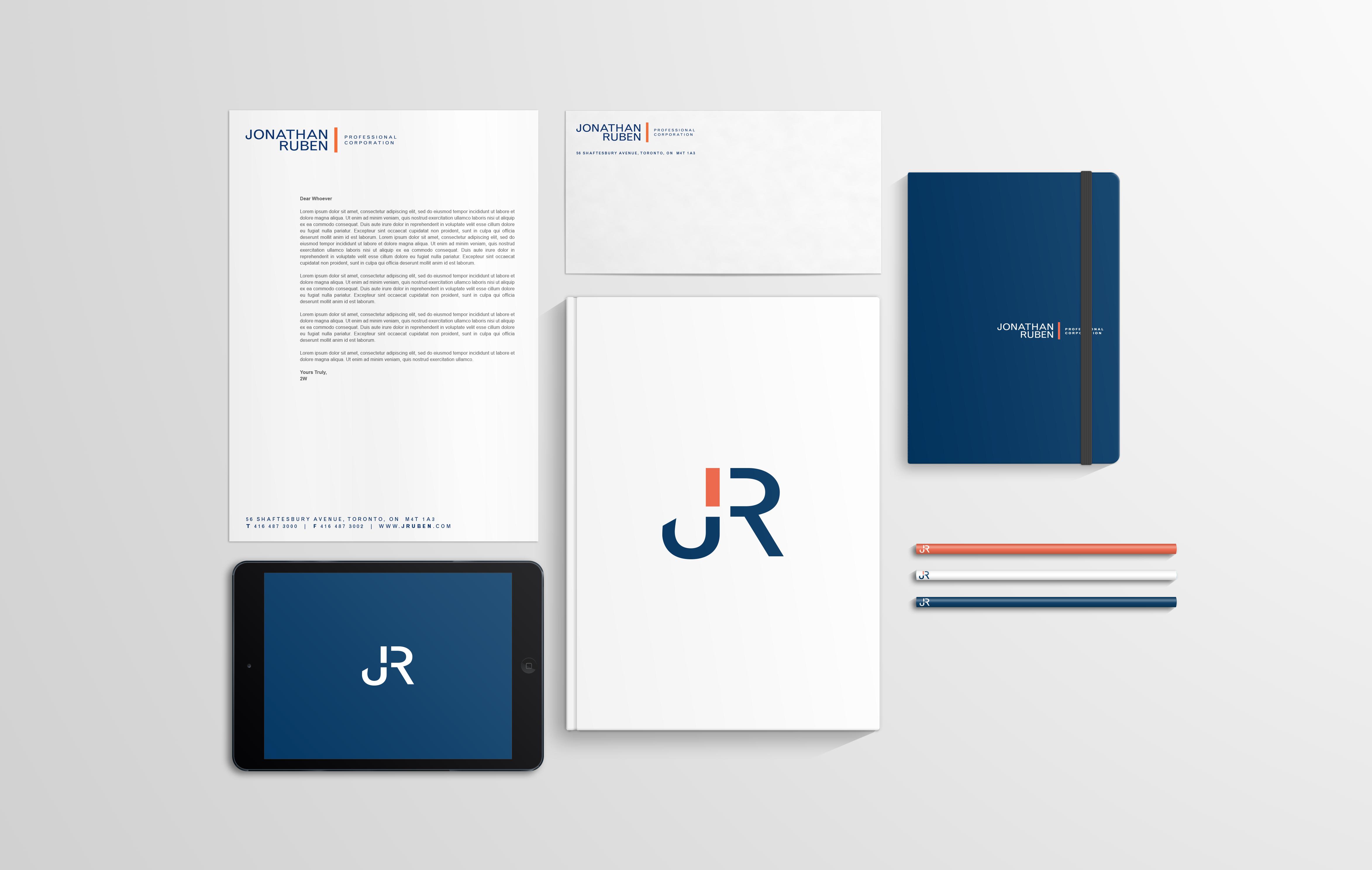 JR Stationary Branding