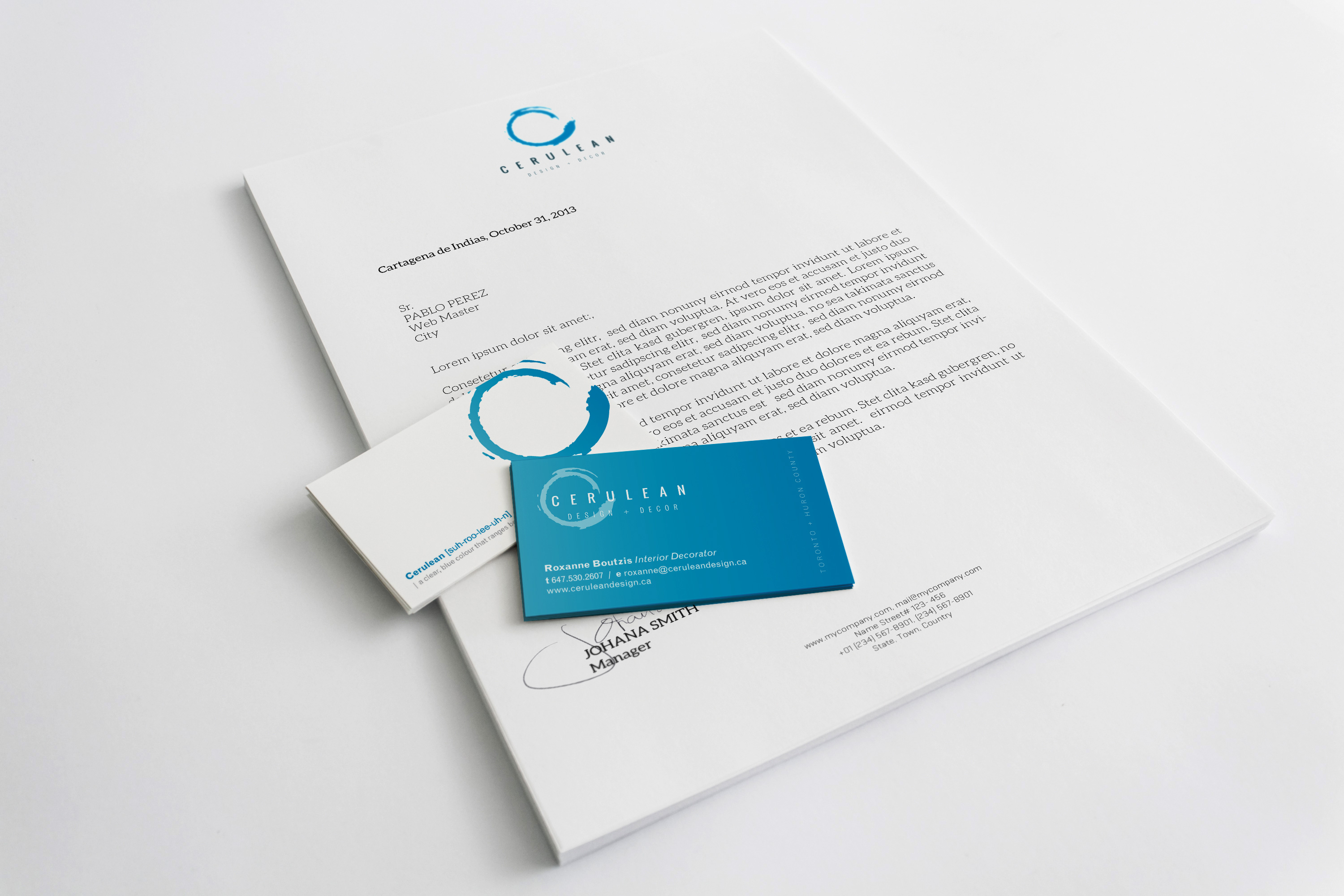 Cerulean-a4-letterhead-business-cards