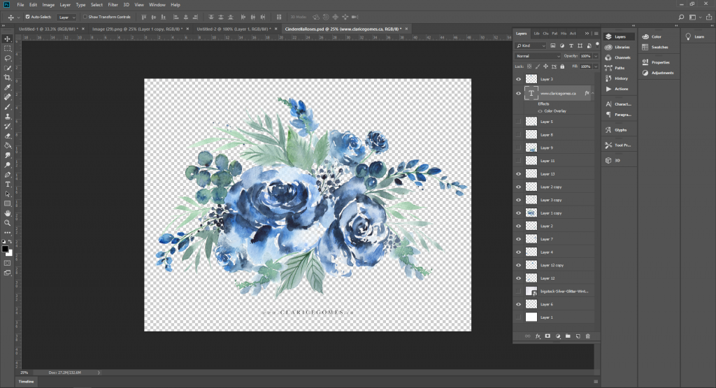 blue-roses-photoshop