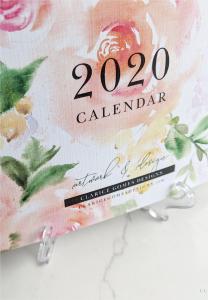 2020 Calendar Clarice Gomes